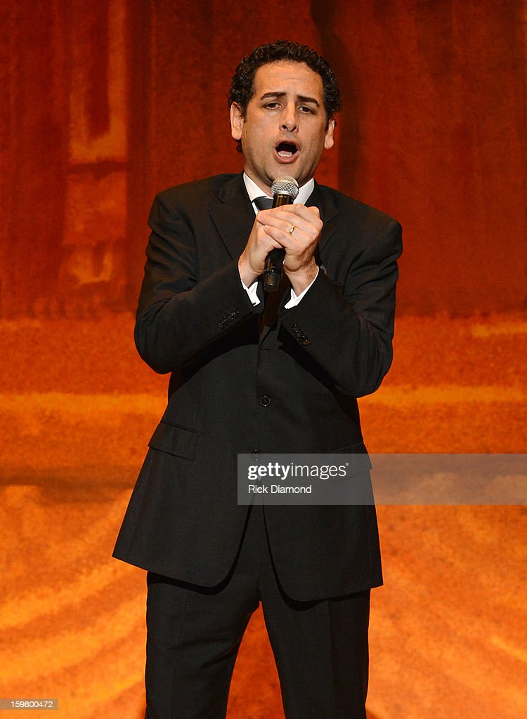 Operatic tenor Juan Diego Florez performs at Latino Inaugural 2013: In Performance at Kennedy Center at The Kennedy Center on January 20, 2013 in Washington, DC.