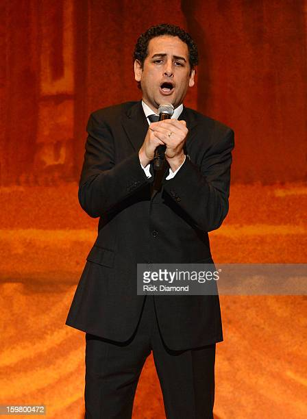 Operatic tenor Juan Diego Florez performs at Latino Inaugural 2013 In Performance at Kennedy Center at The Kennedy Center on January 20 2013 in...