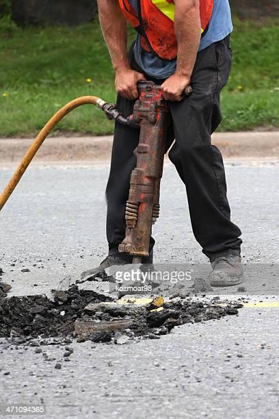 Operating A Jackhammer