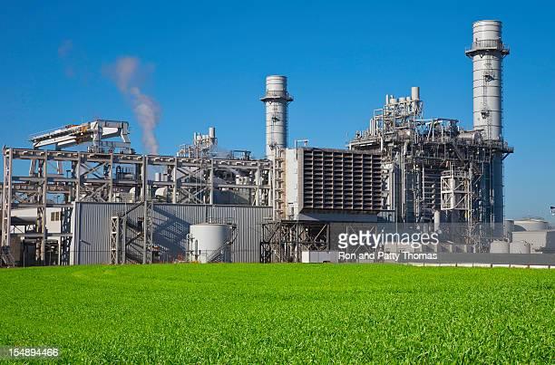 電気天然ガス火力発電所