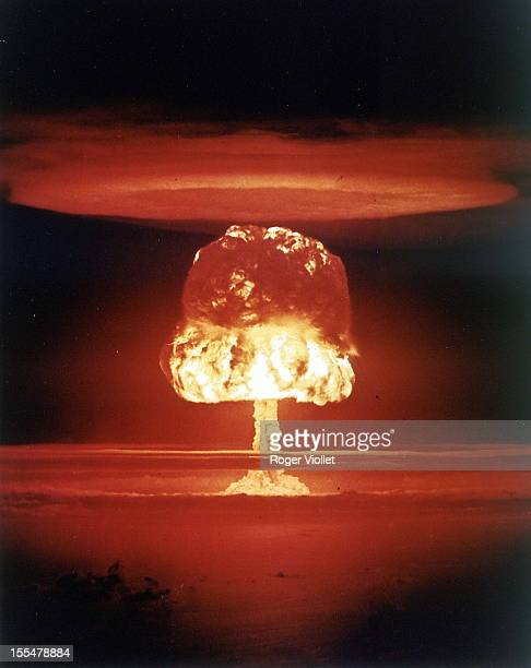 Operation Castle American series of highenergy nuclear tests at Bikini Atoll March 26 1954