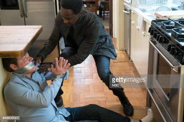 REDEMPTION 'Operation Davenport' Episode 104 Pictured Craig Geraghty as 'Apartment Owner' Edi Gathegi as Matias Solomon
