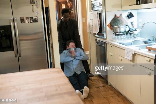 REDEMPTION 'Operation Davenport' Episode 104 Pictured Edi Gathegi as Matias Solomon Craig Geraghty as 'Apartment Owner'