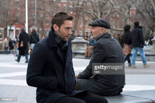 REDEMPTION 'Operation Davenport' Episode 104 Pictured Ryan Eggold as Tom Keen Terry O'Quinn as Howard Hargrave