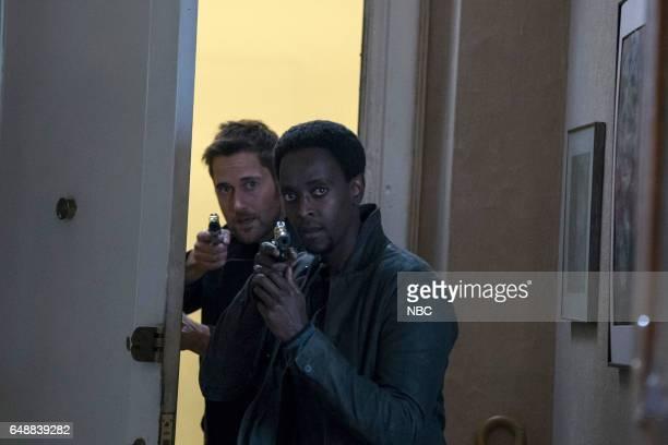 REDEMPTION 'Operation Davenport' Episode 104 Pictured Ryan Eggold as Tom Keen Edi Gathegi as Matias Solomon