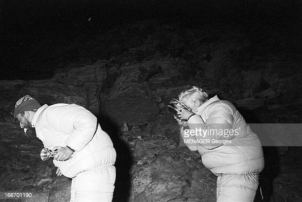 Operation Survival In The Mountains In 1960 24 JUILLET 1960 une expédition de type survie en hautemontagne avec des hommes et des femmes de nuit un...