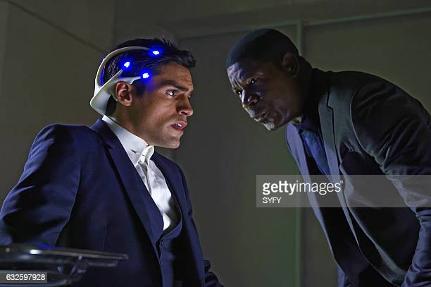 INCORPORATED 'Operational Realignment' Episode 108 Pictured Sean Teale as Ben Larson Dennis Haysbert as Julian