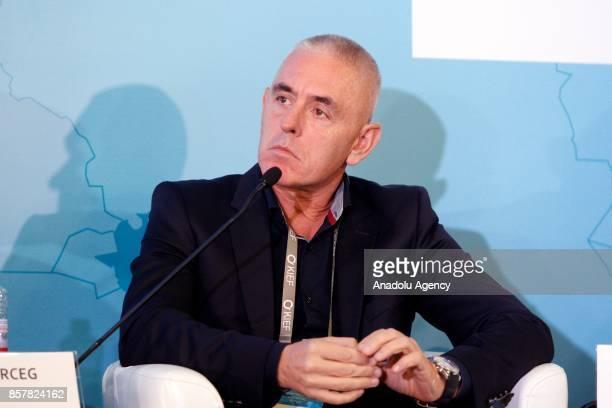Operations Director at agroindustrial holding «AstartaKyiv» Zeljko Erceg attends the 'Kyiv International Economic Forum 2017' in Kiev Ukraine on...