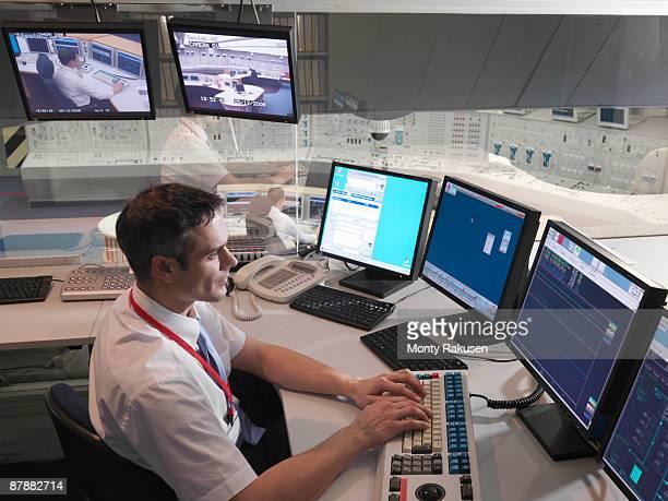 Operator in control room