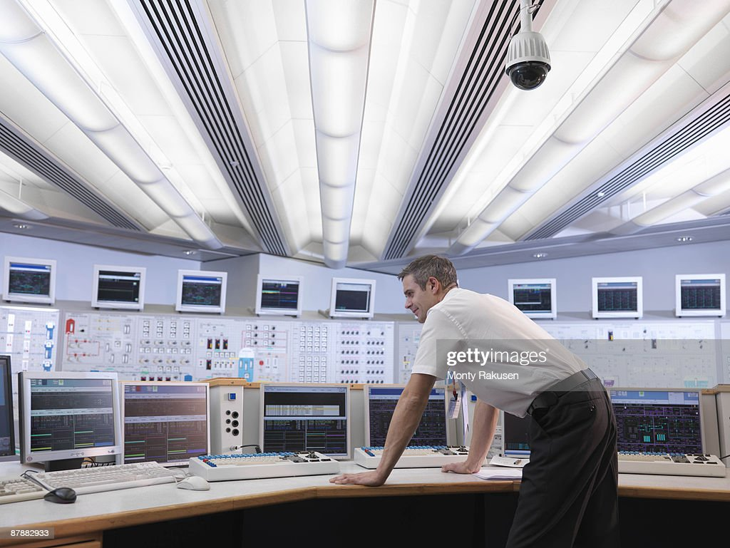 Operator in control room
