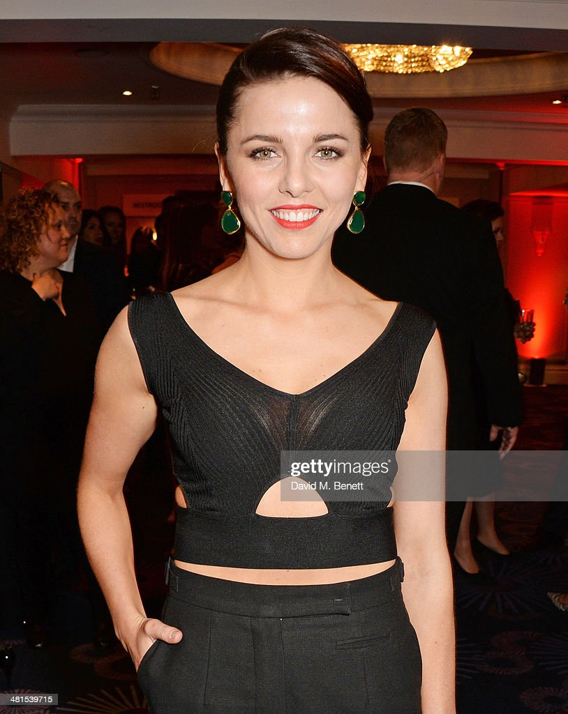 Ophelia Lovibond arrives at the Jameson Empire Awards 2014 at The Grosvenor House Hotel on March 30, 2014 in London, England.