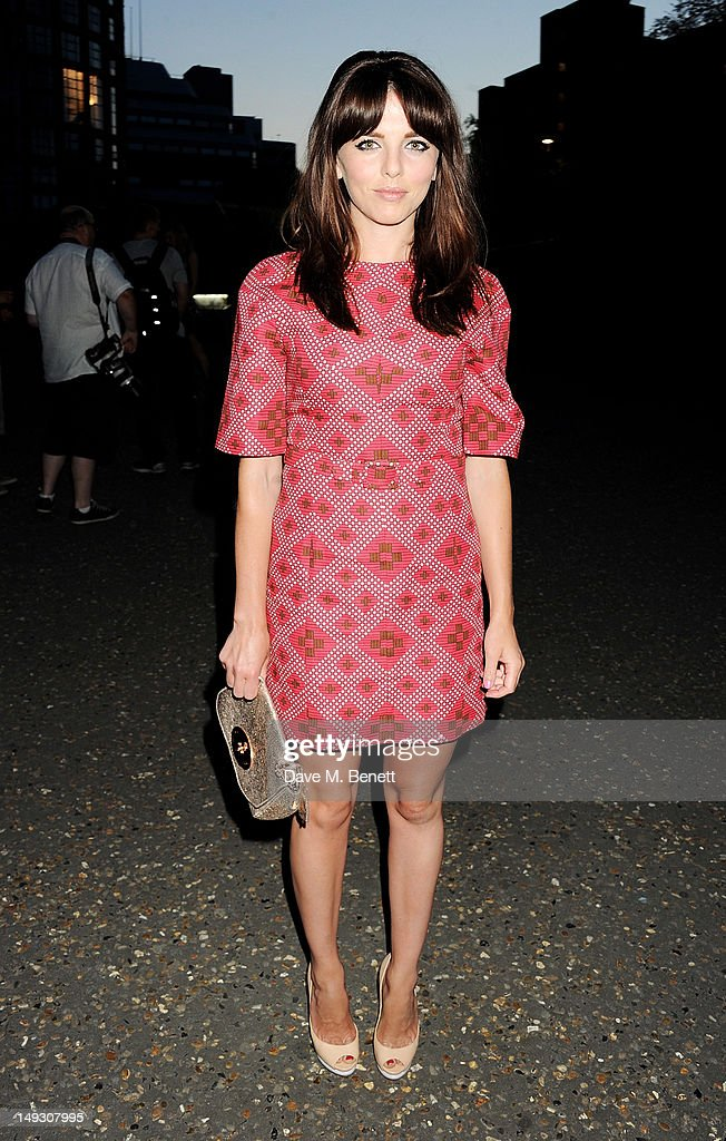 Ophelia Lovibond arrives at the Warner Music Group Pre-Olympics Party in the Southern Tanks Gallery at the Tate Modern on July 26, 2012 in London, England.