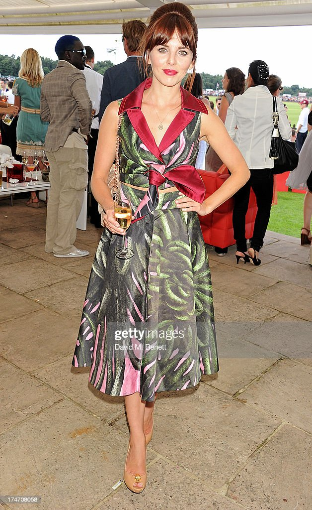 Ophelia Lovibond attends the Audi International Polo at Guards Polo Club on July 28, 2013 in Egham, England.