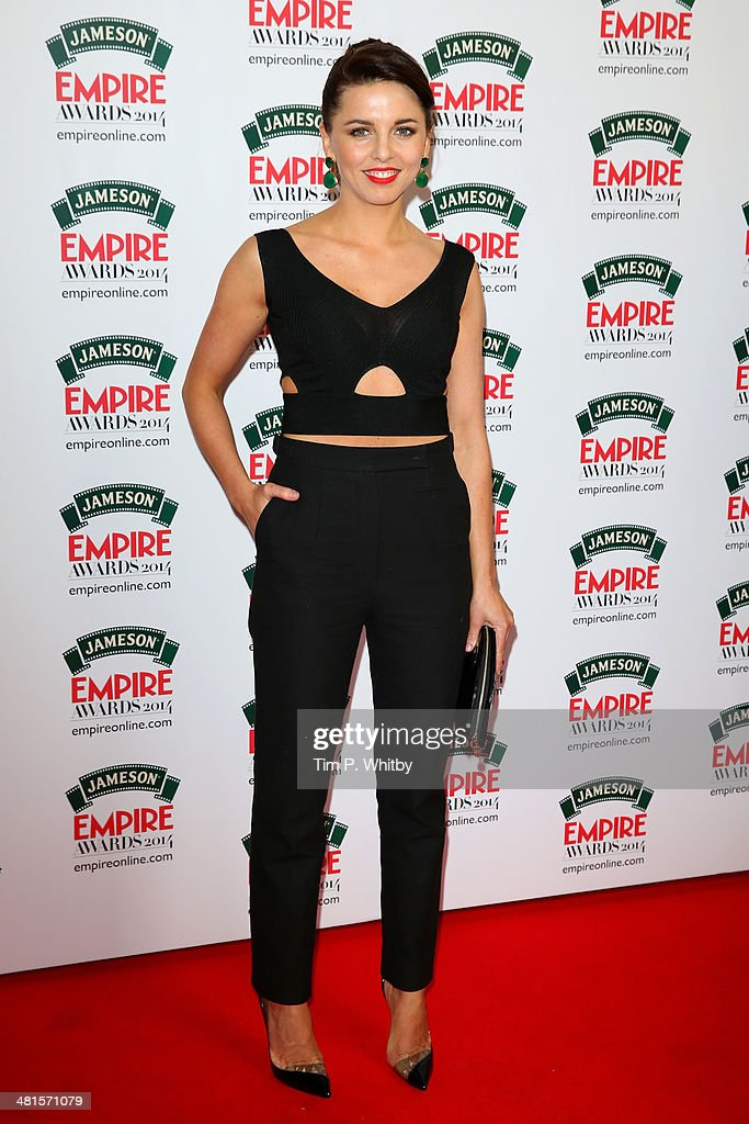 Ophelia Lovibond attends the Jameson Empire Awards 2014 at the Grosvenor House Hotel on March 30, 2014 in London, England. Regarded as a relaxed end to the awards show season, the Jameson Empire Awards celebrate the film industry's success stories of the year with winners being voted for entirely by members of the public. Visit empireonline.com/awards2014 for more information.