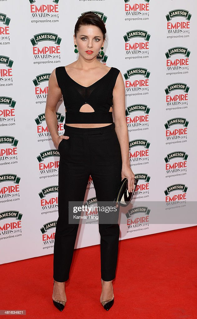 Ophelia Lovibond attends the Jameson Empire Film Awards at Grosvenor House on March 30, 2014 in London, England.