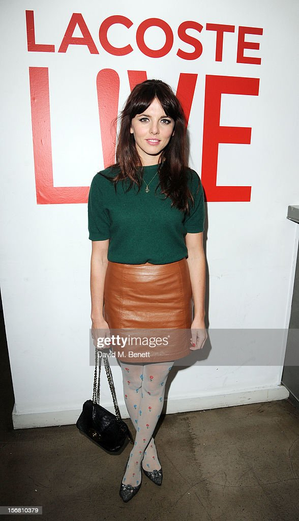 Ophelia Lovibond attends the launch of Lacoste L!VE at Shoreditch House on November 21, 2012 in London, England.