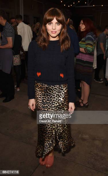 Ophelia Lovibond attends the launch of new book 'Jackson Levine Round To Ours' by Laura Jackson and Alice Levine at Hoxton Docks on May 17 2017 in...