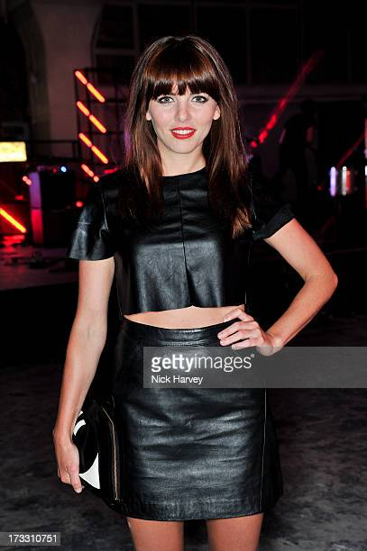 Ophelia Lovibond attends the Lulu Guinness Paint Project party at Old Sorting Office on July 11 2013 in London England