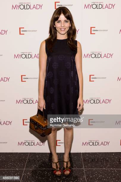 Ophelia Lovibond attends the 'My Old Lady' New York Premiere at Museum of Modern Art on September 9 2014 in New York City