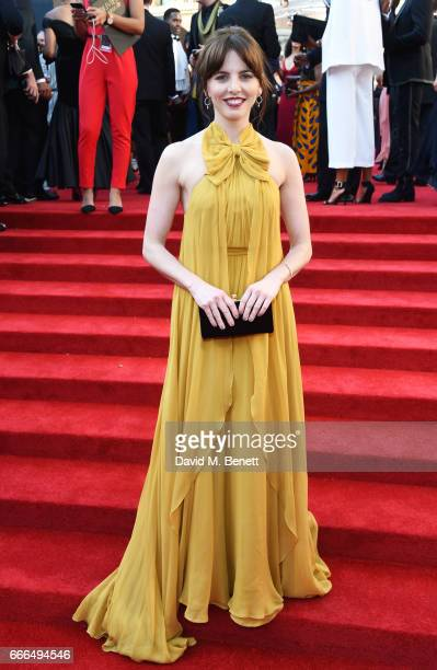 Ophelia Lovibond attends The Olivier Awards 2017 at Royal Albert Hall on April 9 2017 in London England