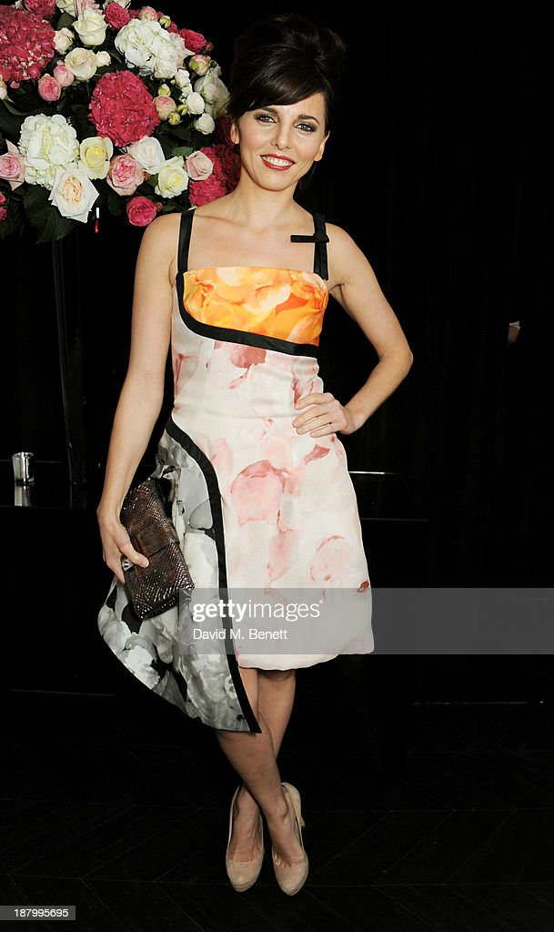 Ophelia Lovibond attends the opening of the Dior Beauty Boutique in Covent Garden on November 14, 2013 in London, England.