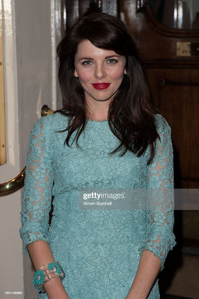 <a gi-track='captionPersonalityLinkClicked' href=/galleries/search?phrase=Ophelia+Lovibond&family=editorial&specificpeople=5912824 ng-click='$event.stopPropagation()'>Ophelia Lovibond</a> attends the press night for the new cast of 'One Man, Two Guvnors' at Theatre Royal on October 17, 2013 in London, England.