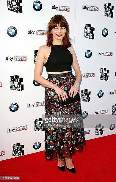 Ophelia Lovibond attends the South Bank Sky Arts Awards at The Savoy Hotel on June 7 2015 in London England