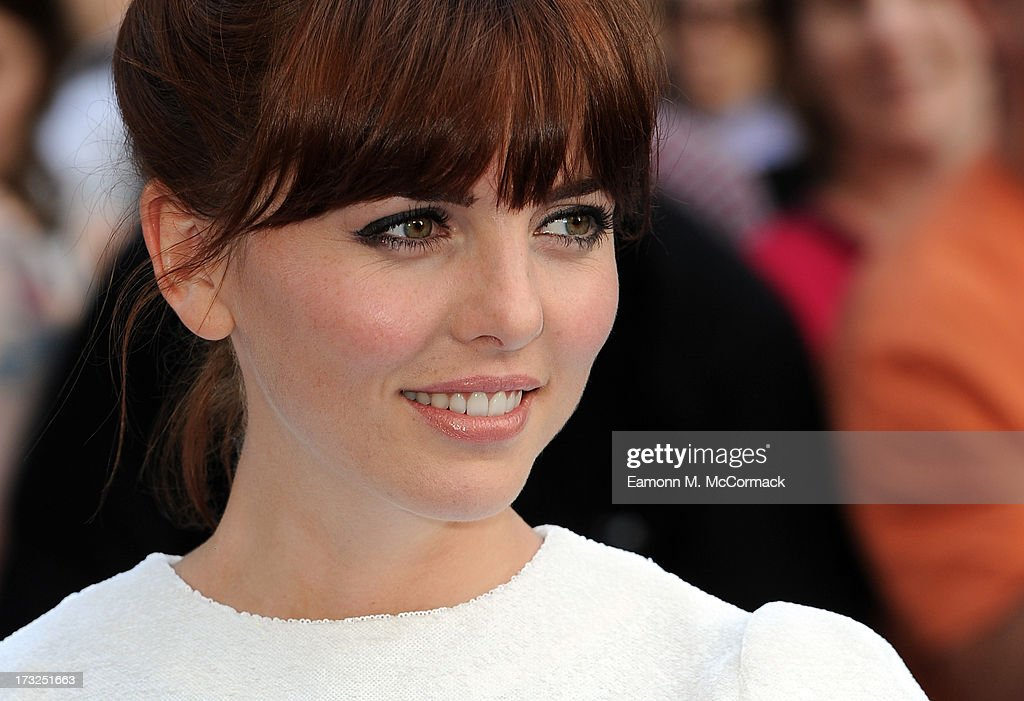 Ophelia Lovibond attends the World Premiere of 'The World's End' at Empire Leicester Square on July 10, 2013 in London, England.