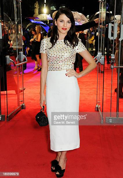 Ophelia Lovibond attends the World Premiere of 'Thor The Dark World' at Odeon Leicester Square on October 22 2013 in London England