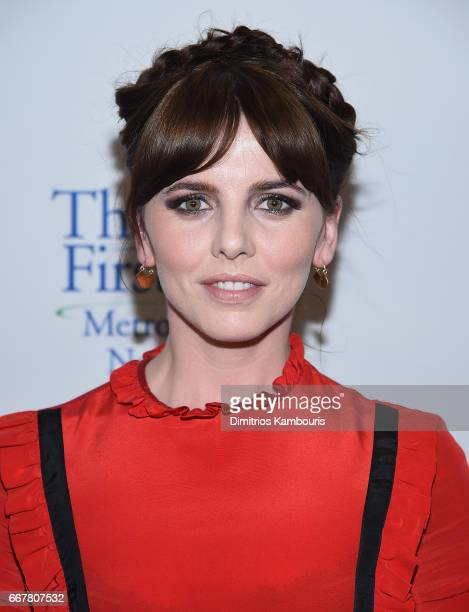 Ophelia Lovibond attends 'Tommy's Honour' New York Screening at AMC Loews Lincoln Square 13 theater on April 12 2017 in New York City
