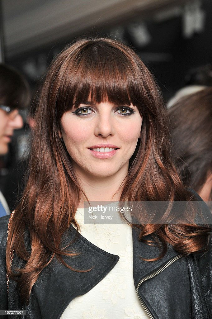 Ophelia Lovibond attends/performs at Burberry Live at 121 Regent Street at Burberry on April 23, 2013 in London, England.