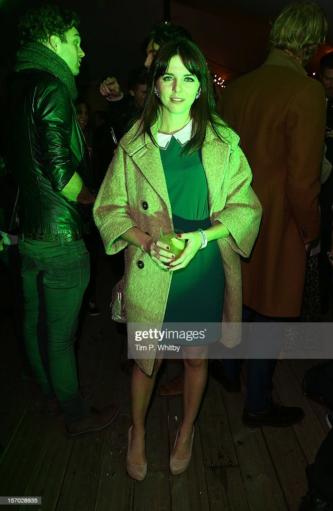 Ophelia Lovibond enjoys a Jameson cocktail at the Jameson Cult Film Club premiere of Seven Psychopaths at Oval Space on November 27, 2012 in London, England. Jameson Cult Film Club hosts immersive screenings of cult classics and new release 'Future Cult' films across the UK>>