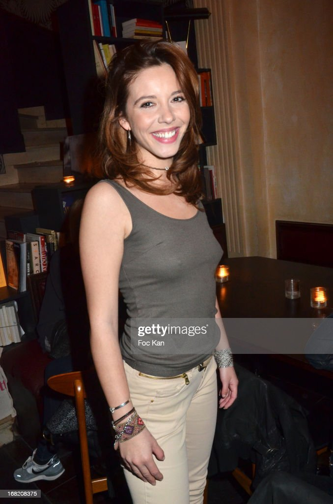 Ophelie Bazillou attends the 'Speakeasy' Party At The Lefty Bar Restsaurant on May 6, 2013 in Paris, France.