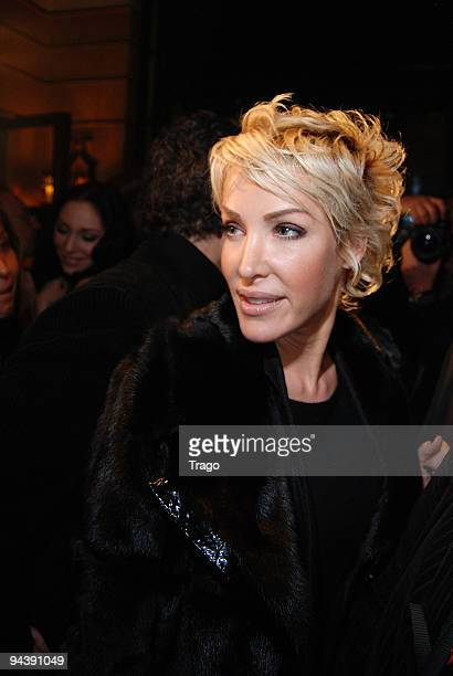 Ophelie Winter attends jeweler Edouard Nahum's presentation of a new collection at Mathis Club on December 13 2009 in Paris France