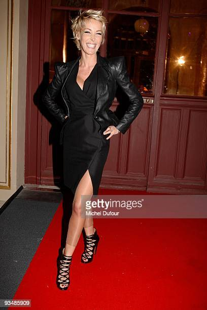 Ophelie Winter attends the 25th anniversary dinner for ''AIDS International'' at Les BeauxArts de Paris on November 28 2009 in Paris France