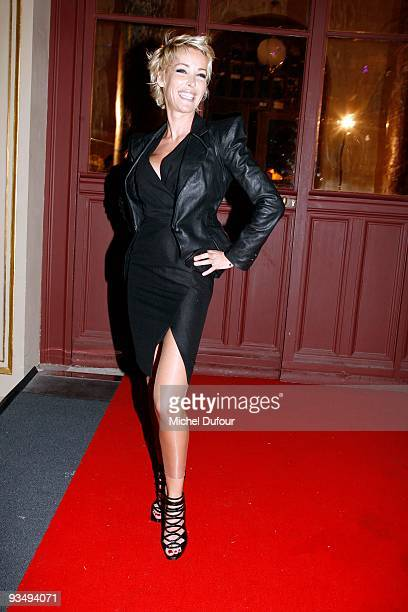 Ophelie Winter attends the dinner to celebrate the 25th anniversary of AIDS International at Les BeauxArts de Paris on November 28 2009 in Paris...