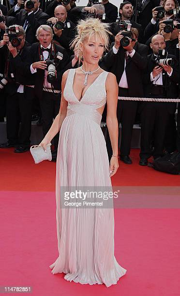 Ophelie Winter attends the 'Indiana Jones and the Kingdom of the Crystal Skull' premiere at the Palais des Festivals during the 61st Cannes...