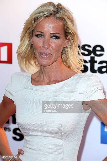 Ophelie Winter attends the photocall of 'Danse Avec Les Stars' At TF1 on September 10 2014 in Paris France