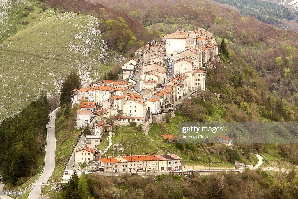 Opi cityscape - Abruzzo National Park