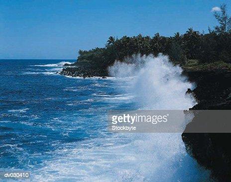 Opihikao Coast, Hawaii, Hawaiian Islands, USA