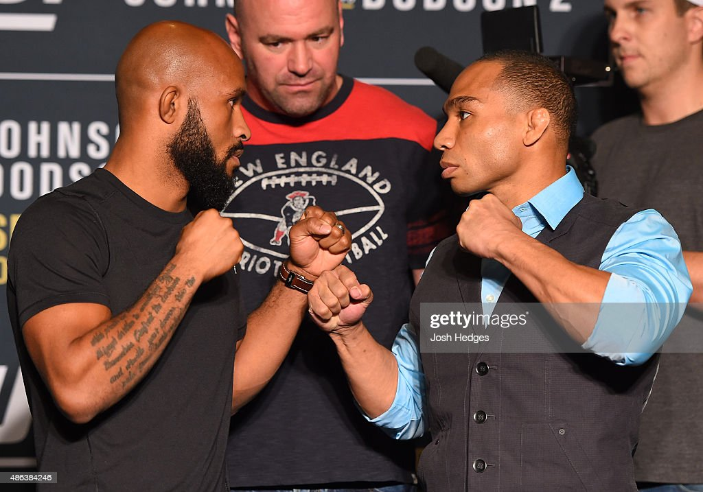 UFC 191 Ultimate Media Day