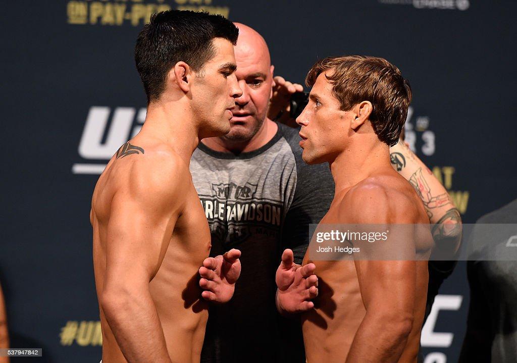 UFC 199: Weigh-in