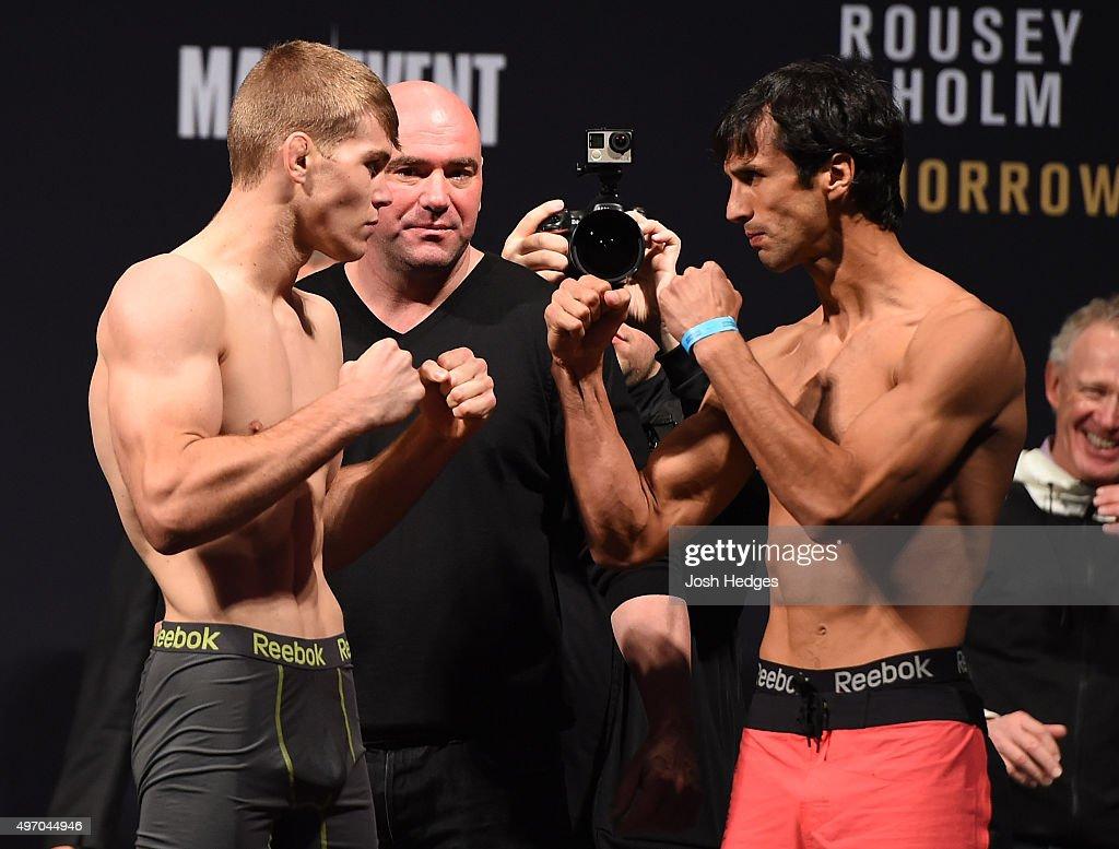 UFC 193 Weigh-in