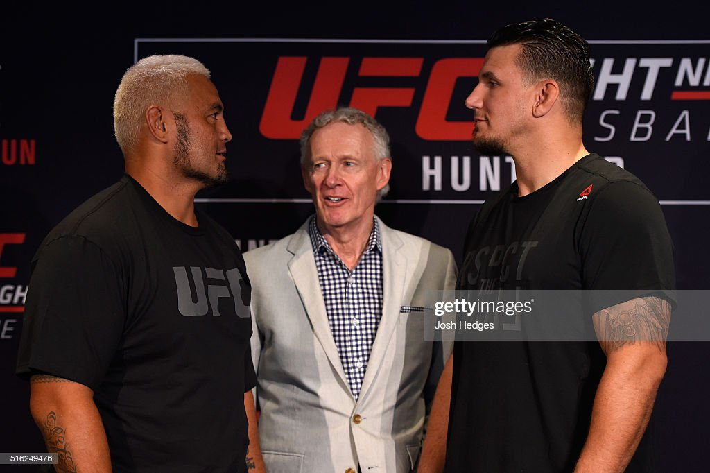 UFC Fight Night Ultimate Media Day