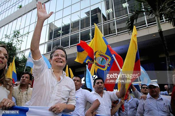 Opponents of Ecuadorean President Rafael Correa protest for the fifth consecutive day against a bill which would increase inheritance taxes in...
