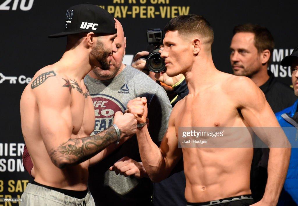 UFC 210: Weigh-in