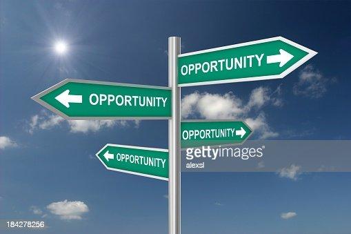 機会の交差点