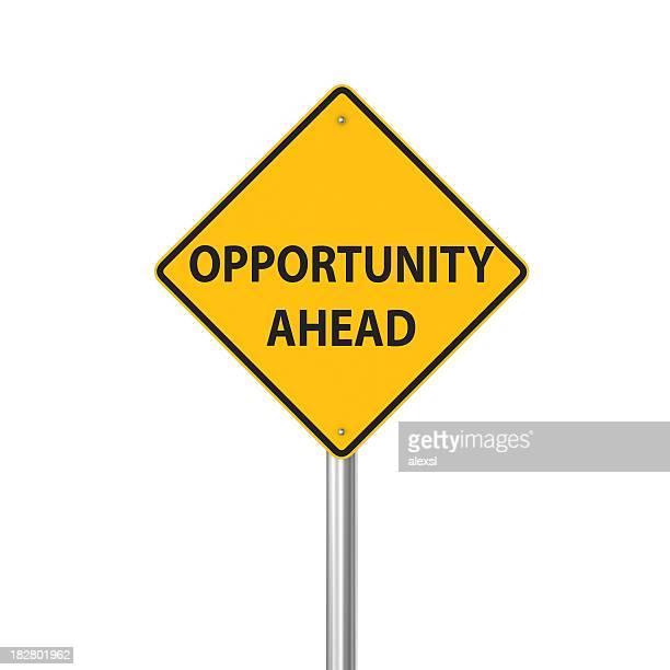 Oportunidade à frente