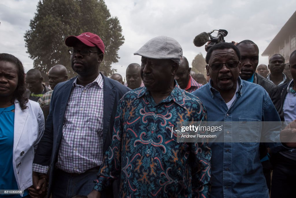 Opposition Supporters Reject Kenyan Election Result