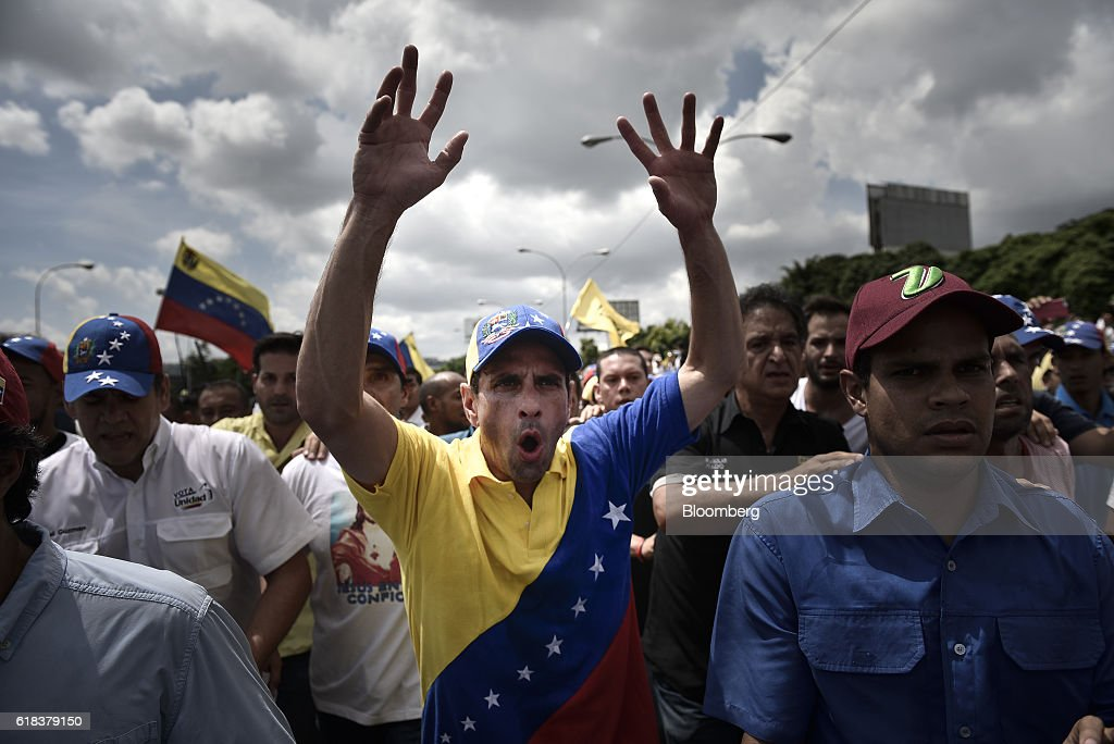 Protests As Venezuela's Congress Moves To Challenge President, Supreme Court